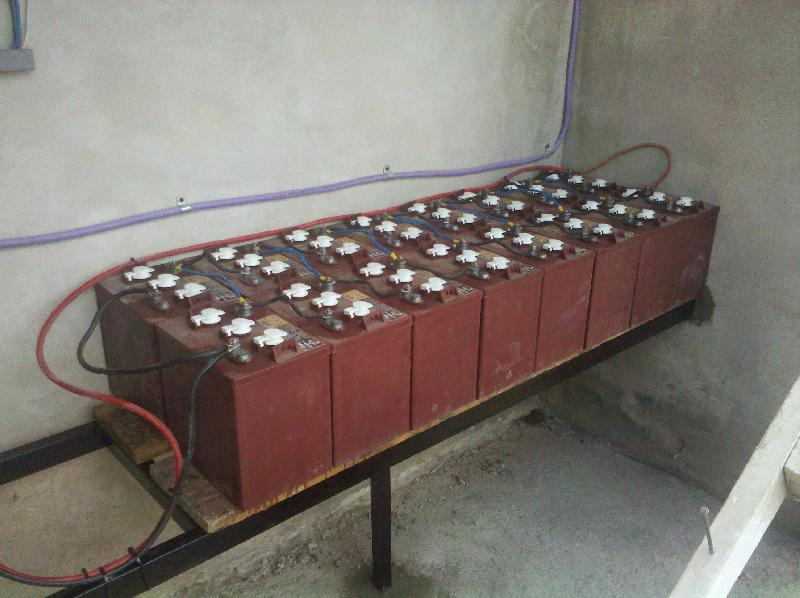 Banco baterías 15kw