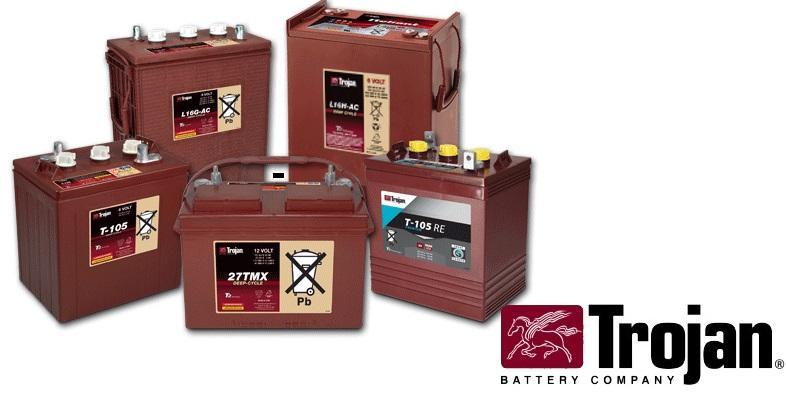 Baterías de ciclado Profundo TROJAN USA